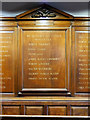 SD6911 : World War I Memorial, Smithills Chapel by David Dixon