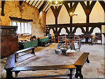 SD6911 : Smithills Hall, The Great Hall by David Dixon