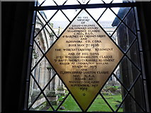 SO8554 : Worcester Cathedral: memorial (77) by Basher Eyre