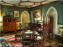 SD6911 : Smithills Hall, Colonel Ainsworth's Room by David Dixon