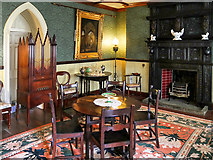 SD6911 : Colonel Ainsworth's Room, Smithills Hall by David Dixon