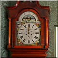 SD6911 : Grandfather Clock, Colonel Ainsworth's Sitting Room at Smithills Hall by David Dixon