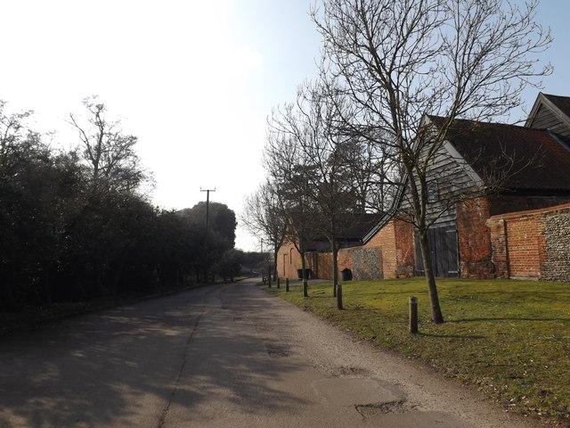 Sheepwash Lane, Eastbridge