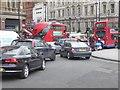 TQ3080 : Gridlock at Trafalgar Square by Oliver Dixon