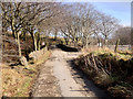 SD6713 : Coal Pit Road, The Bridge at Roscow's Tenement Clough by David Dixon