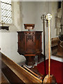 TM0682 : St.Andrew's Church Pulpit by Adrian Cable