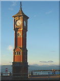 SD4364 : The Clock Tower, Morecambe at sunset by Karl and Ali