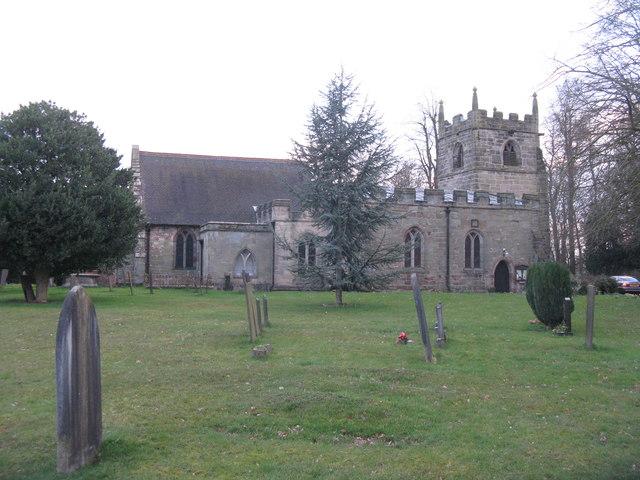 St Wilfrid's, Egginton