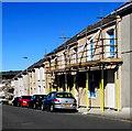 SS5199 : Scaffolding on Bigyn Road houses, Llanelli by Jaggery