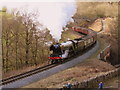 NZ8301 : The Flying Scotsman crossing Eller Beck by Matthew Hatton