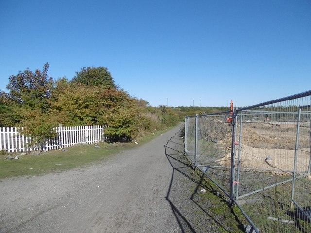 Former mineral line, Earsdon Junction
