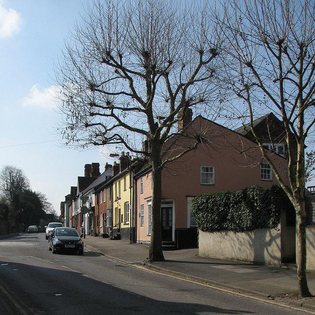 Saffron Walden: London Road