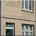 TL5438 : Saffron Walden: detail of 1 Artisans Dwellings by John Sutton