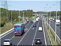 NZ2374 : A1/A19 junction, Seton Burn by Richard Webb