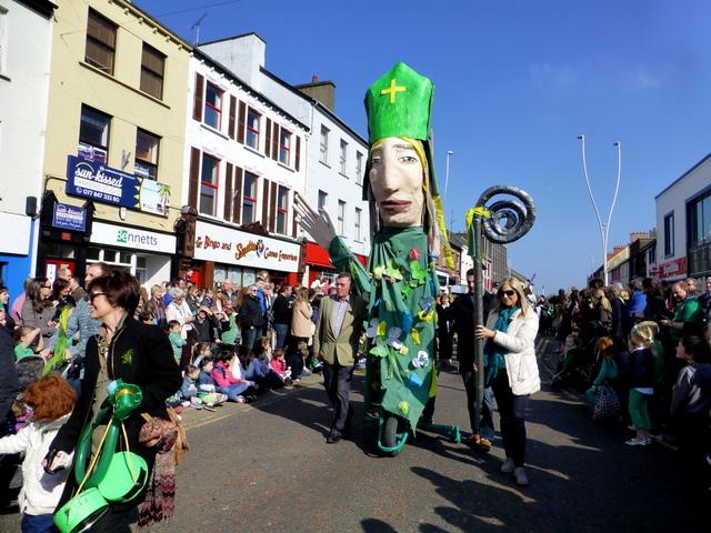 St Patrick, St Patrick's Day Parade 2016