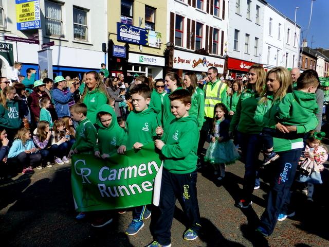 Carmen Runners, St Patrick's Day 2016