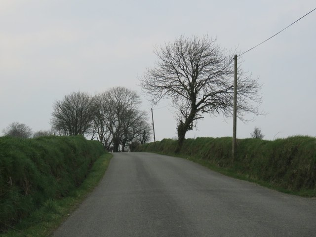 Country road near Ballinacurra