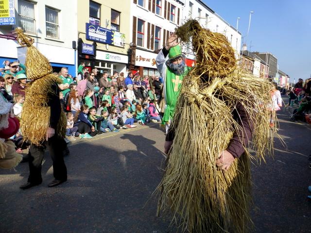 Trillick Mummers, St Patrick's Day 2016