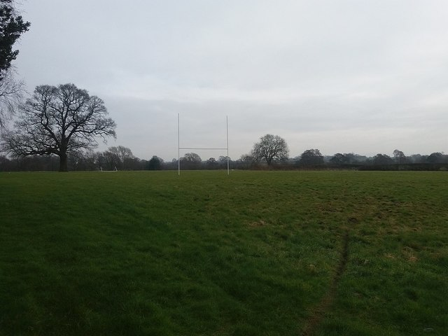 Rugby pitch off Bradwall Road