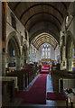 SS3102 : Interior, St Swithin's church, Pyworthy by Julian P Guffogg