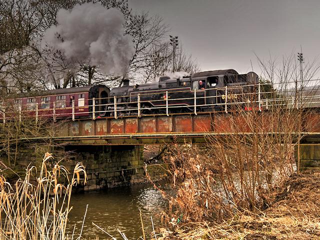 East Lancashire Railway, Square River Bridge at Ramsbottom