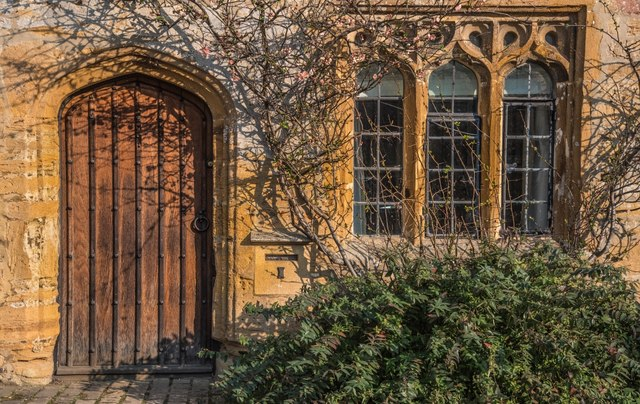 Montacute: Old property in The Borough