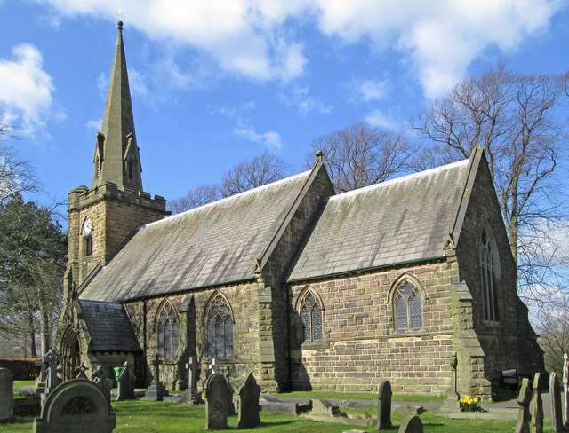 Heath - All Saints Church - from SE