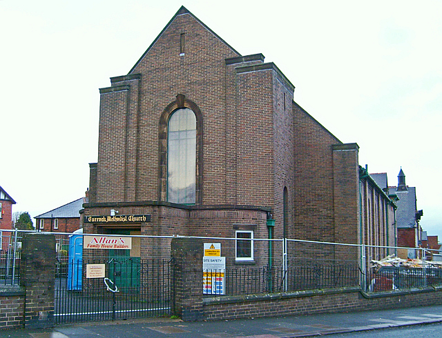 Currock Methodist Church being converted to flats