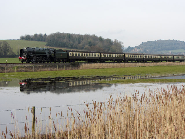 West Somerset Railway at Ker Moor