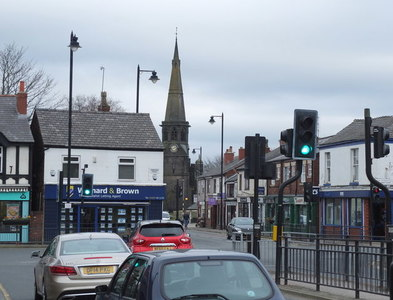 SD5610 : Junction of the B5239 and the A49 in Standish by Gary Rogers