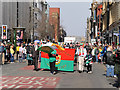 SJ8398 : Manchester Irish Festival Parade, Deansgate by David Dixon