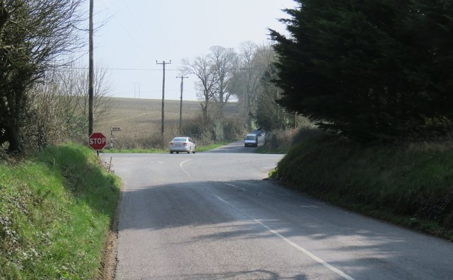 Crossroads just north of Carrigaline