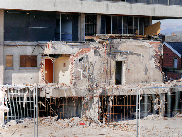 Remains of Former Police Headquarters (March 2016)