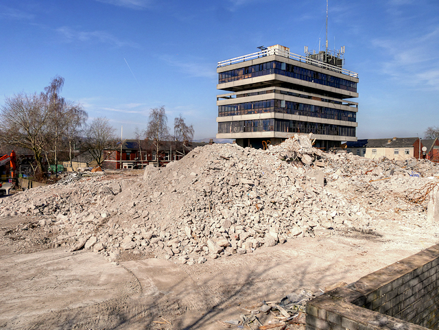 Demolition Site of Former Police Headquarters (March 2016)