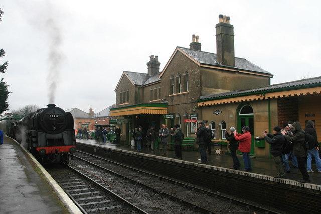 Mid Hants Railway - Alresford Station