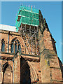 NY3955 : Cathedral repairs, 2006 by Rose and Trev Clough