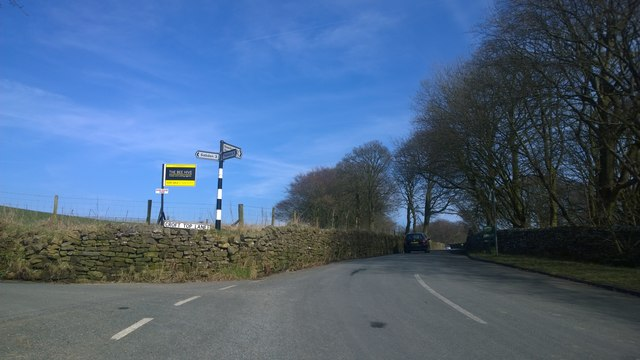 Noggarth Road at Fence