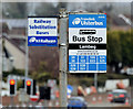 J2765 : Bus stop, Lambeg (March 2016) by Albert Bridge
