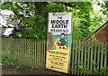 SP0981 : Tolkien 1 all welcome-Hall Green, Birmingham by Martin Richard Phelan