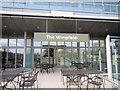 TQ2472 : Café at Wimbledon Lawn Tennis Club by Paul Gillett