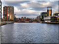 SJ8097 : Salford Quays, North Bay by David Dixon