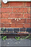 SK5319 : Benchmark on #36 York Road by Roger Templeman