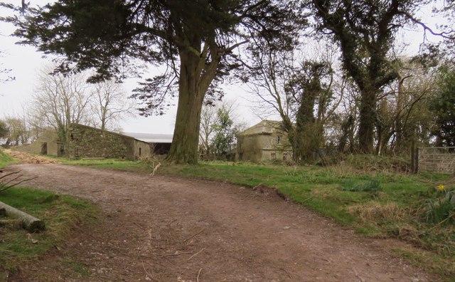Derelict farm house in Fourmile Bridge