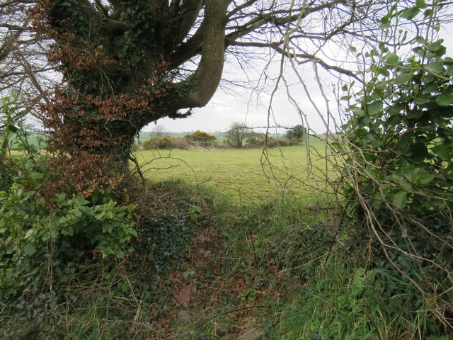 Site of an enclosure