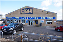 SE8912 : FMS Autoparts on Normanby Road, Scunthorpe by Ian S