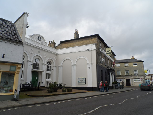 Market Hall and High Street, Saxmundham