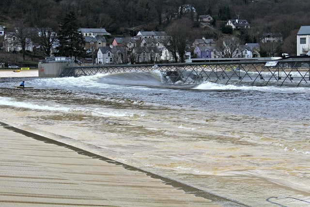 The surf surge re-starts