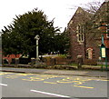 ST2987 : Oakfield Road bus stop, Newport by Jaggery