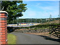 SH5671 : Gateway to Bangor City Football Club by Eirian Evans