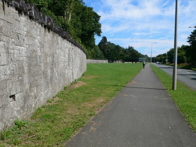 The North Wales Path near the Vaynol Estate